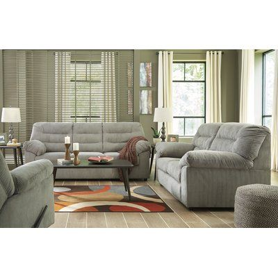 Winston Porter Brierwood Reclining Living Room Set Furniture