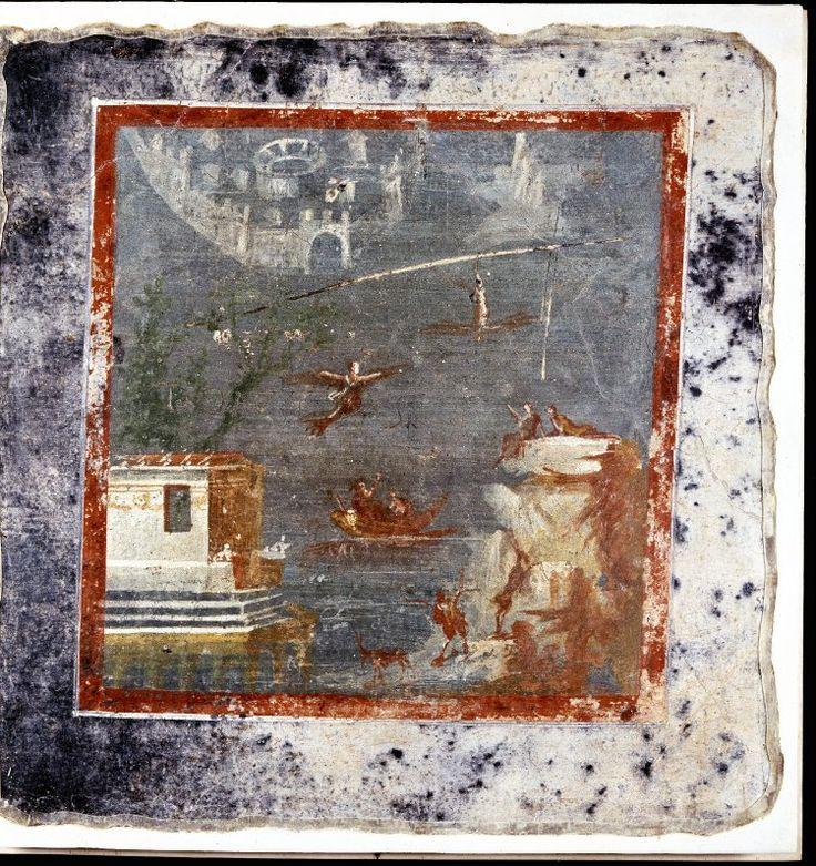 Roman Wall Paintings Of Daedalus