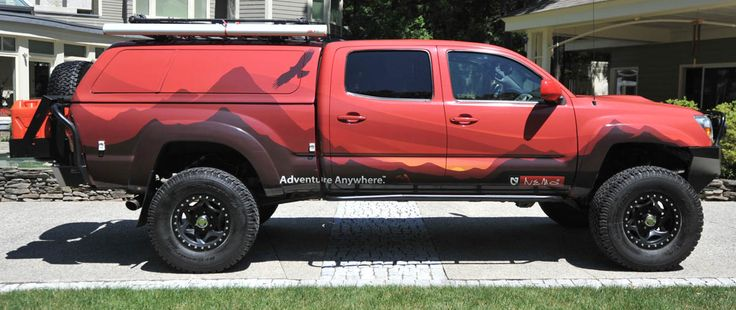 Dudes, I would be more than content with this pickup....with camper and all!  -  Ben   AT Overland Toyota Tacoma