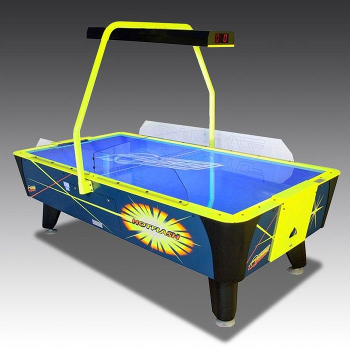 Hot Flash Air Hockey Table | The Games Room Company
