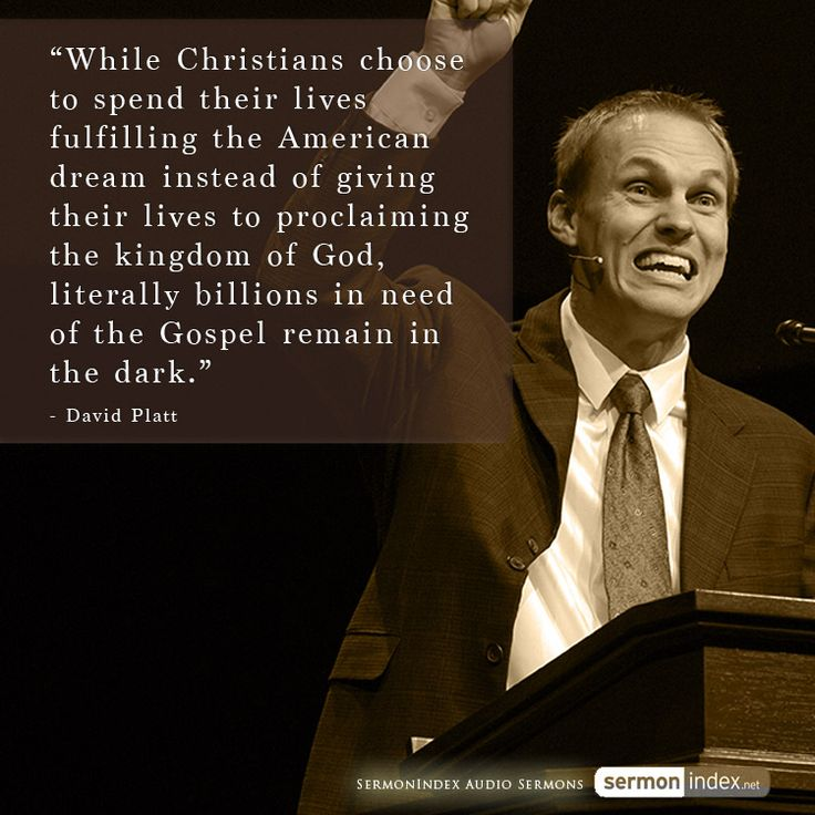 """""""While Christians choose to spend their lives fulfilling the American dream instead of giving their lives to proclaiming the kingdom of God, literally billions in need of the Gospel remain in the dark."""" - David Platt #christians #americandream #unreached"""