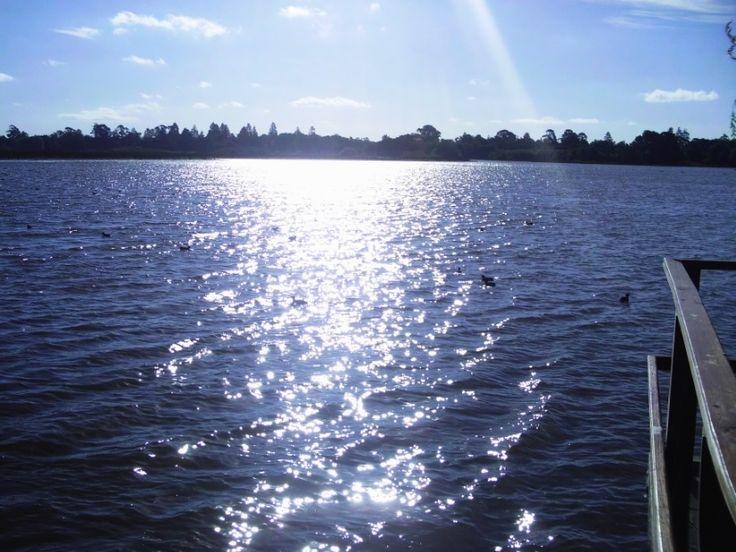 Lake Wendouree in Ballarat, taken by myself.