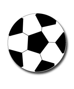 Soccer Ball Clipart to use for team parties, sporting events, on websites!