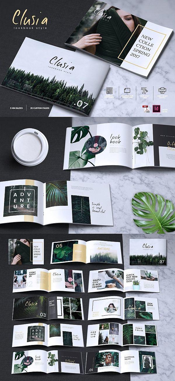 CLUSIA - Lookbook Brochure Catalogue