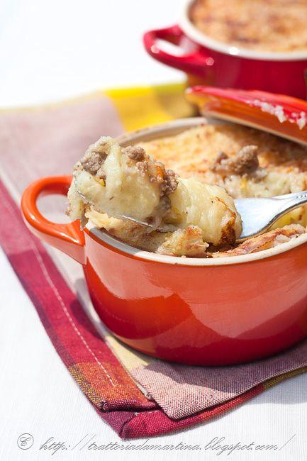 Sformatini di patate in cocotte monoporzione