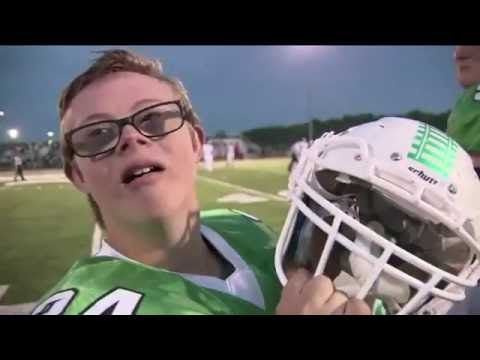 This is my adapted physical education current event. High school football water boy with Down Syndrome scores TD. This video is a great example of how all students can be included in sports. The student benefits from physical activity and socialization with his team mates. The entire team benefits from valuable lessons in teamwork and discipline.