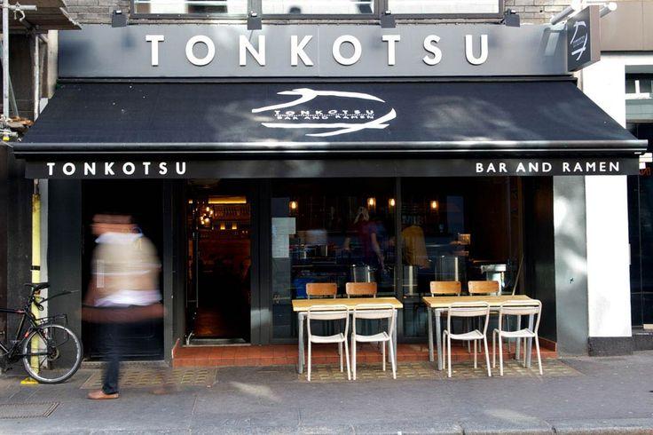 Japanese restaurant exterior