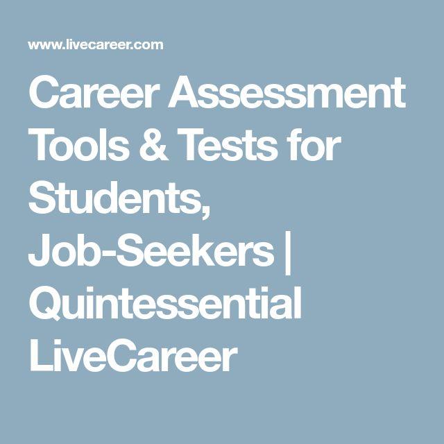 The 25+ best Career assessment tools ideas on Pinterest Disc - live career com