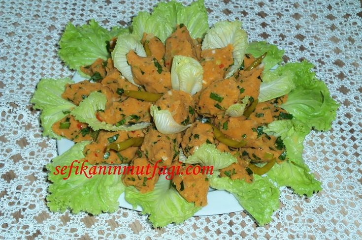 Mercimek Köftesi #MercimekKöftesi #mercimek #köfte #salatatarifi #meze #appetizer #recipes http://sefikaninmutfagi.com/mercimek-koftesi/