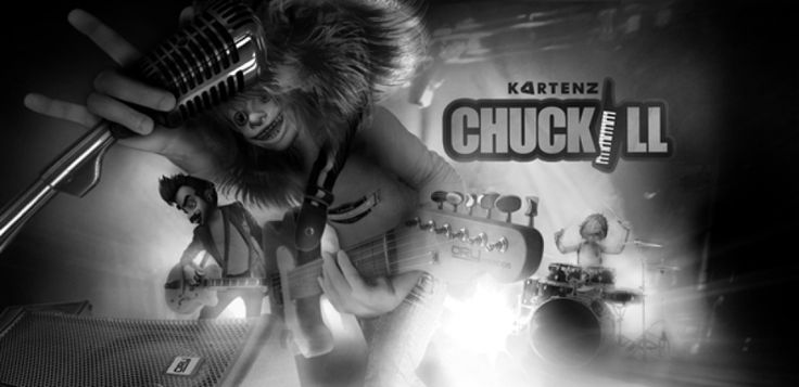 CHUCKILL are virtual band from KARTENZ.