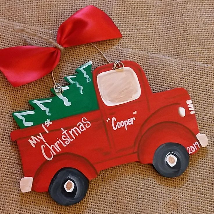 My 1st Christmas Ornament by My Larest Project by Liz