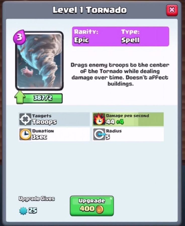 Tornado is the new Clash Royale card which will be released soon in the upcoming November update. Supercell has leaked this card via the balance change update. The