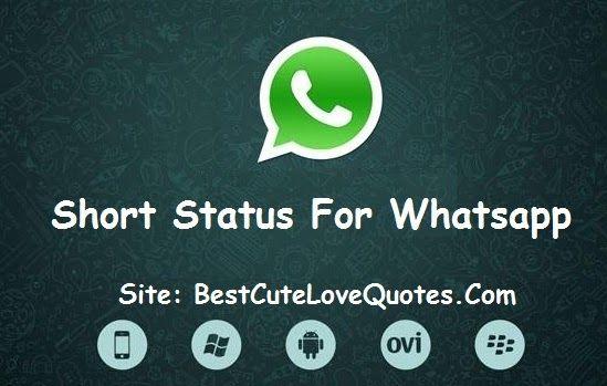 Best Short #Status For #Whatsapp #Love, #LoveStatus, #WhatsappStatus