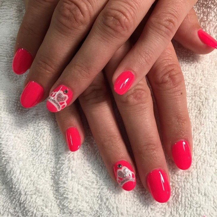 326 best HOT RED NAILS images on Pinterest | Red nail, Red nails and ...