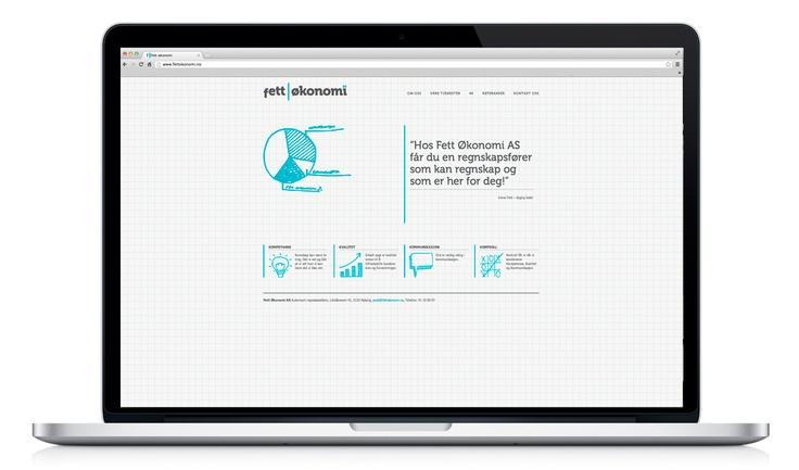 Webside for Fett Økonomi.