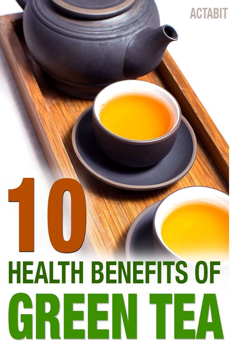 Here are the top ten health benefits of green tea that have been scientifically confirmed through research and testing: http://www.actabit.com/health-benefits-green-tea/ �