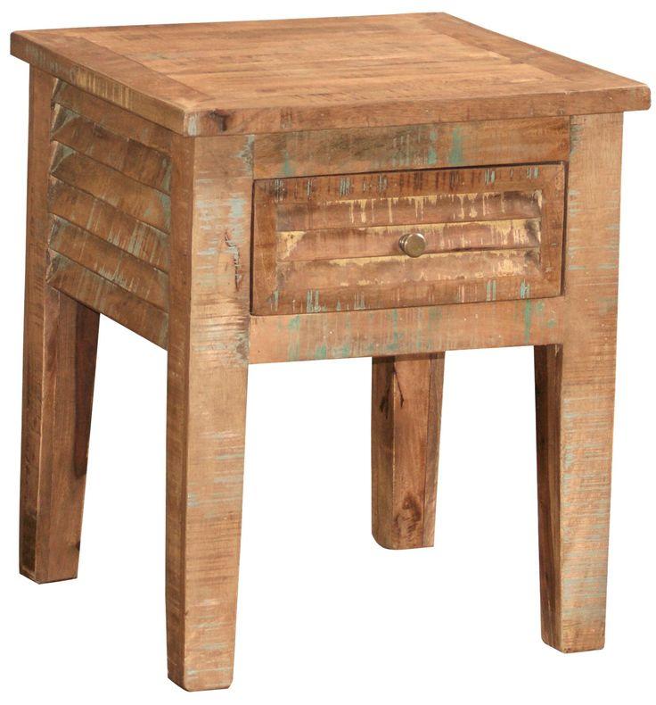 Morris Home Furnishings Bangladesh End Table at Morris Home #NaturalLiving