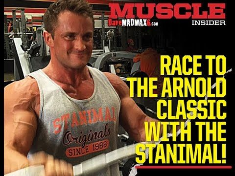 Chest and Biceps training with Stanimal - One week out from the Arnolds