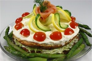 fish Layer Cake
