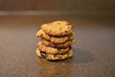 Coconut Tahini Cookies