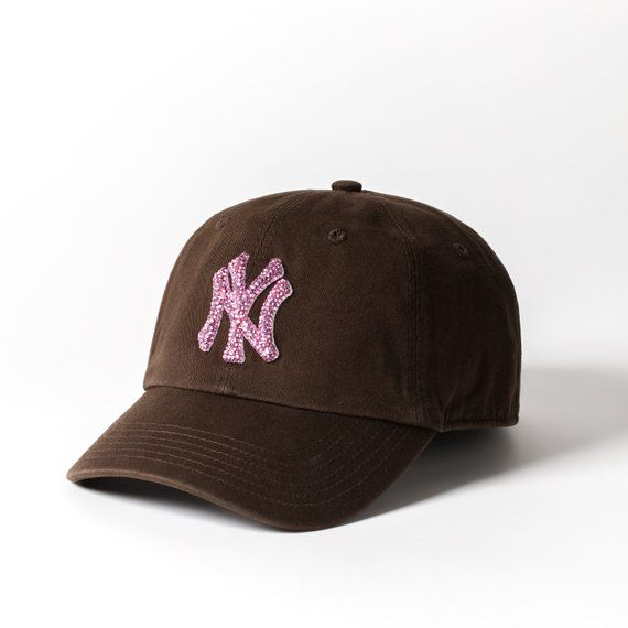 596bdced941 Our Bling New York Yankees Cap is bedazzled with more than 500 Swarovski  crystals ...