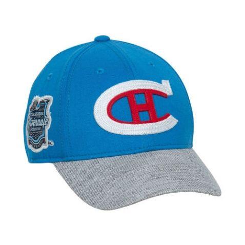 Casquette de la Classique Hivernale 2016 des Canadiens de Montréal. Offerte en 2 grandeurs pour adultes.