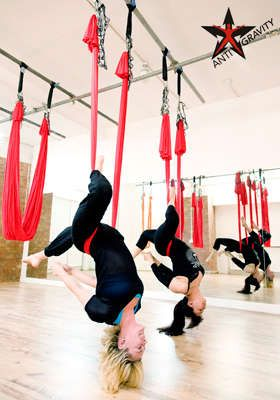 London Dance Academy - Anti-Gravity Yoga!