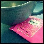 Sipping my first cup of Kusmi tea. #kusmi #tea #arabia #24hgreen #teacup
