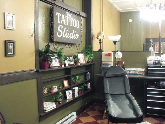 Tattoo Shop Design Ideas: 12 Best Waiting Room Images On Pinterest