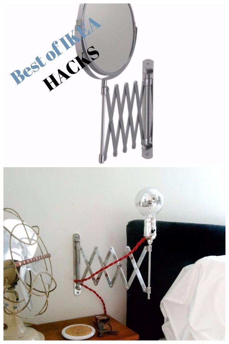 great ikea hacks le meilleur des with lampe de chevet ikea. Black Bedroom Furniture Sets. Home Design Ideas