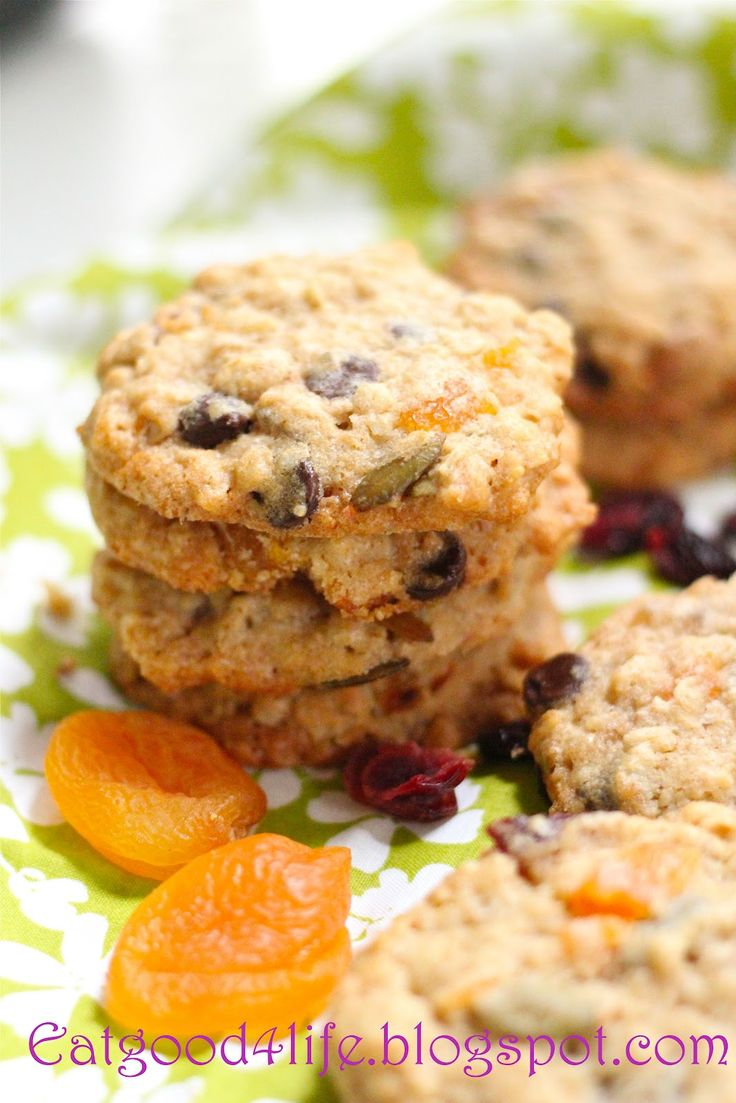 Eat Good 4 Life: Trail mix whole grain cookies