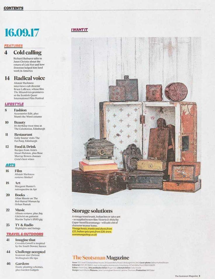 Scaramanga Storage Solutions in Herald Magazine