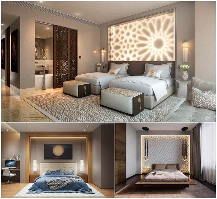 French Blue Bedroom Cool Bedroom Ceiling Ideas Bedroom Furniture Set Designs Bedroom Elevations Interior Design: 25 Inspiring And Chic Bedroom Lighting Ideas 1