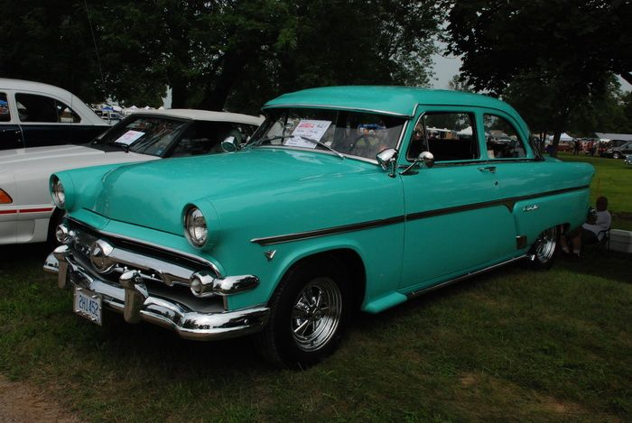 One of about 900 cars at the Bothwell, Ontario Car show 2011