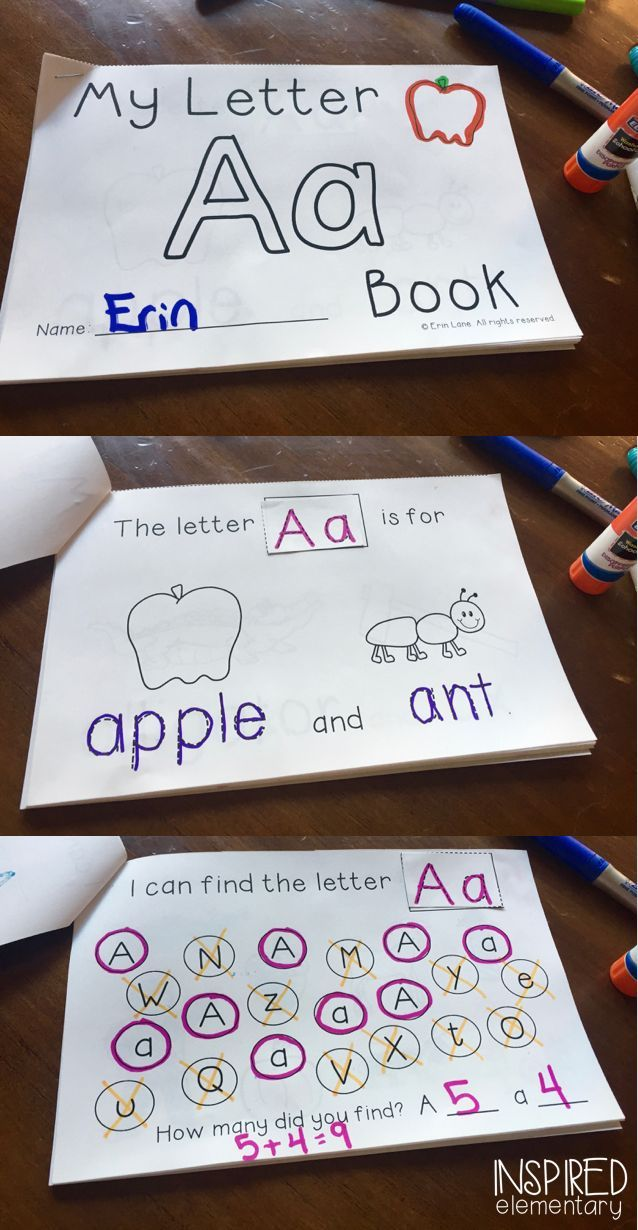FREEBIE! Letter of the Week is FUN and interactive with these Alphabet Activity Books! Many different ways to use these books which are perfect of introducing letters and reviewing them.