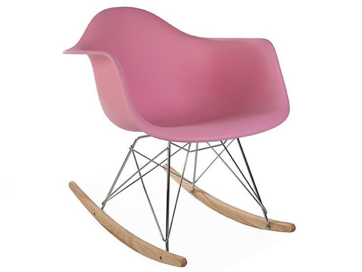 Eames rocking chair rar pink eames rocking chair