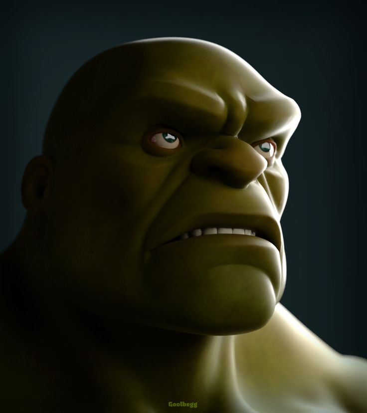 ArtStation - Mean but Green, Martin Guldbaek