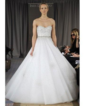 Spring 2012Wedding Dressses, Fashion Weeks, Santo Bridal, Ball Gowns Wedding, Spring Collection, Ines Di, Bridal Fashion, Dreams Dresses, The Saint