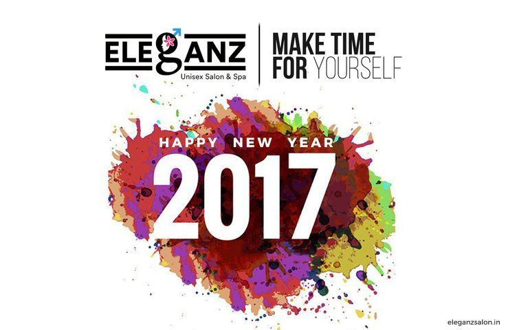 Eleganz Unisex Salon & Spa wishes you a Happy New Year!!!  Thank you for your association and this New Year we wish you luck, prosperity and health, and look forward to continue serving you.  #NewYear #bye2016 #hello2017 #beauty #happiness #health #salon #spa #happynewyear