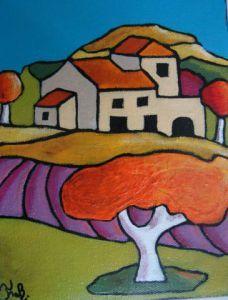 Voir cette oeuvre de fabinonzoli: champs de lavande