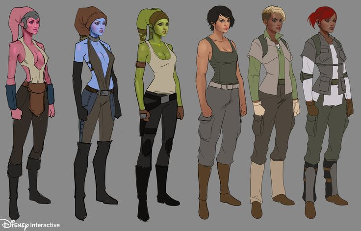 ArtStation - Star Wars mobile game - Disney Interactive, William Nichols