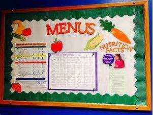 Image result for school cafeteria bulletin boards