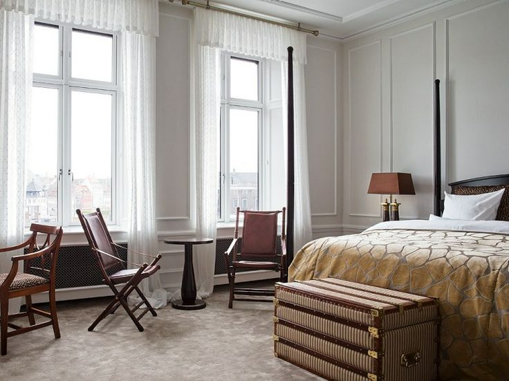 HOTEL D'ANGLETERRE Copenhagen, Denmark  Copenhagen is an easy sell in itself, and with the restoration of the once-stuffy Hotel d'Angleterre...