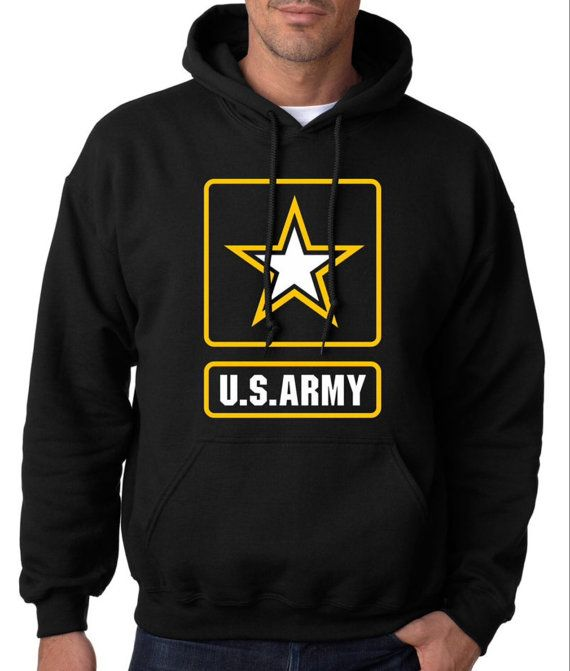 U.S Army hoodie by Xclusivetrade on Etsy