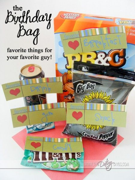 Great gift idea. Also lots of great ideas for other types of gifts for boyfriends/husbands, anniversaries, birthdays, etc.