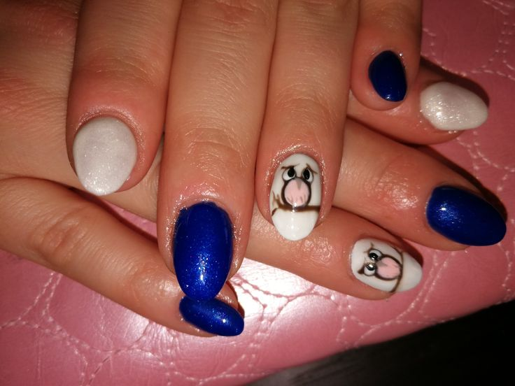#bluenails #brilbird #owlnails #csillogos