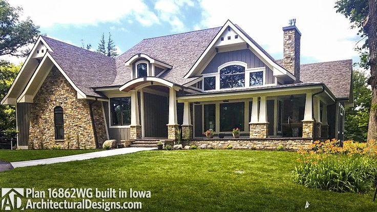 Plan 16862wg cozy 3 bed cottage with bonus House plans iowa