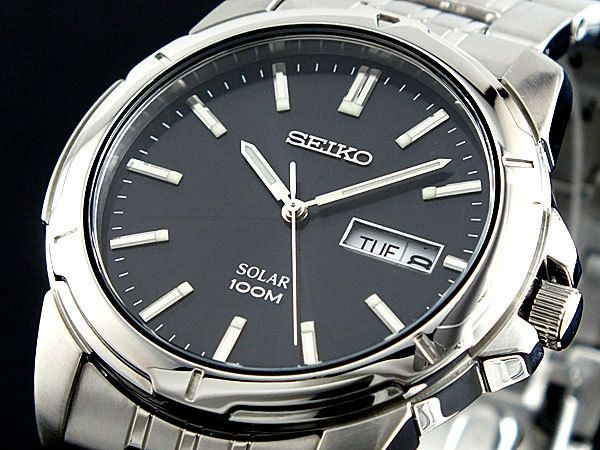 17 best images about seiko solar pilots solar and seiko mens solar watch sne093p1