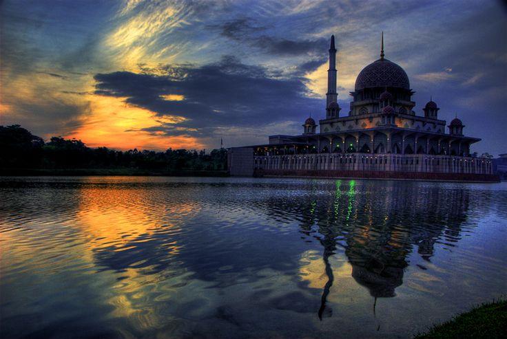 Putrajeya masjid in Malaysia,  Beautiful