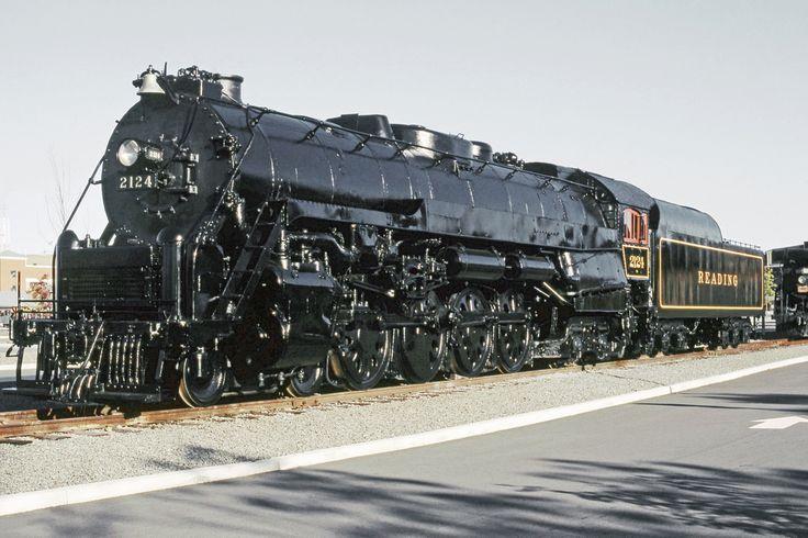 T-Hog: Nickname for a Reading Railroad T-1 4-8-4 steam locomotive.